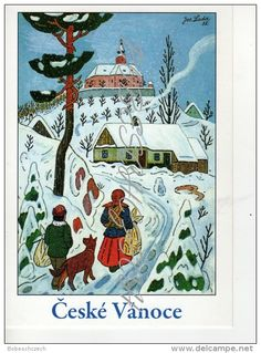 Stamps, coins and banknotes, postcards or any other collectable items are on Delcampe! Christmas Greetings, Christmas Cards, Retro 2, Summer Pictures, Winter Scenes, Happy Girls, Winter Time, Statues, Illustrators