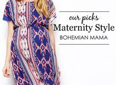 Bohemian Mama Maternity Style - #boho