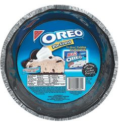 Give desserts the delicious chocolate taste of childhood with Oreo Pie Crusts. Oreo Pie Crusts are made with real cookie pieces for an authentic Oreo flavor Oreo Pudding, Chocolate Pudding, Pie Crust Dough, Oreo Crust, Pie Crusts, Chips Ahoy, Hershey Chocolate Bar, Chocolate Pies, Delicious Chocolate