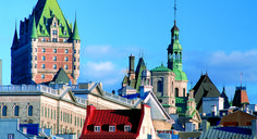 You may fall so hard for the charms and quirks of Quebec City that you'll find yourself mistaking the St. Lawrence River for the Seine.