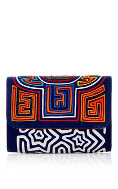 Dadwgua Clutch by Mola Sasa for Preorder on Moda Operandi
