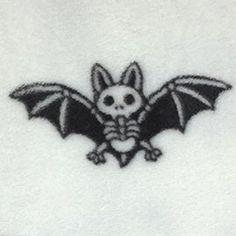 Bat Skeleton Blanket on Mercari Kritzelei Tattoo, Smal Tattoo, Piercing Tattoo, Get A Tattoo, Tattoo Drawings, Chest Tattoo, Tattoo Sketches, Mini Tattoos, Body Art Tattoos