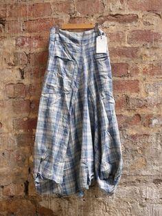 Zinnia Plaid Skirt, Braintree Clothing, Organic Cotton, Hemp – Pomegranate Clothing Ltd