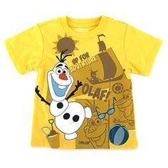 Frozen Olaf Toddler Boys Yellow T-Shirt (2T) Disney http://www.amazon.com/dp/B00OYB6F46/ref=cm_sw_r_pi_dp_AGe2wb0T8WTV2