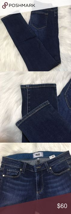 """Paige skyline ankle peg jeans Length 35"""". Inseam 27"""" .waist 14"""". In great condition no trades no modeling PAIGE Jeans Skinny"""
