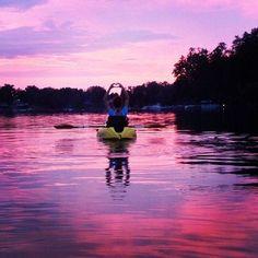 Absolutely! Heart  <3 Kayaking