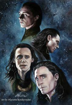 Loki by KerdzevadzeART (by Marietta Kerdzevadze, by Marietta Kerdzevadze, ArtByMarietta)