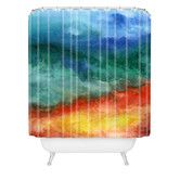 Found it at Wayfair - Jacqueline Maldonado Woven Polyester Leaving California Shower Curtain