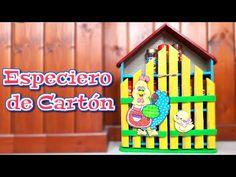 TUTORIAL ESPECIERO DE CARTON PINTURA COUNTRY - Isa ❤️ - YouTube