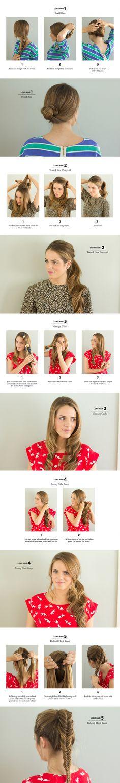 5 DIY Fancy Ways to Style Long Hair