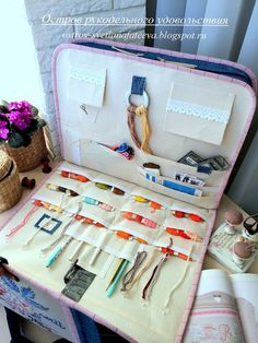 Sewing Kits, Sewing Projects, Cross Stitch Finishing, Needle Book, Sewing Accessories, Small Gifts, Couture, Books, Diy