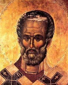 View album on Yandex. Byzantine Icons, Byzantine Art, Religious Icons, Religious Art, Special Prayers, Santa Pictures, The Cross Of Christ, Fresco, Saint Nicholas