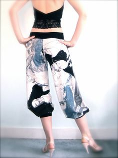 Sketchbook tango pants, or as I like to call them, Fun. Ikke akkurat kjole, men GØY bukse jaffal.
