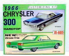 Vintage JOHAN 1966 Chrysler 300 Hardtop Customizing Model Car Kit C1166:149 1/25…
