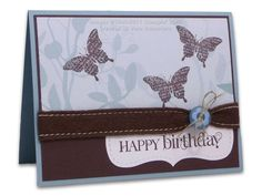Curly Cute Birthday Card by Vera - Cards and Paper Crafts at Splitcoaststampers