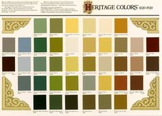 Heritage Colours for Bungalows - 1930