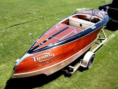 Wooden Speed Boats, Wood Boats, Classic Wooden Boats, Float Your Boat, Vintage Toys, Touring, 21st, Yachts, Antiques