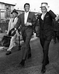 voxsart:Mad Men In London.Romanoff, Martin, and Sinatra, 1961.