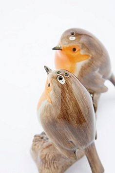 Robin Salt and Pepper Shakers - Urban Outfitters Salt Pepper Shakers, Salt And Pepper, Urban Outfitters, Bar Accessories, Cool Pets, Throw Cushions, Duvet Cover Sets, Tea Set, Robin