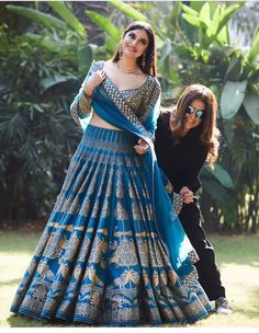 Rama Printed Attractive Party Wear Lehenga Choli with Matching Color unstiched blouse. The Lehenga can be customized up to bust size 44 , Lehenga Length 48 , Waist size 38 , and Dupatta size Mtr. Indian Bridal Outfits, Indian Bridal Lehenga, Indian Designer Outfits, Lehenga Wedding Bridal, Choli Designs, Lehenga Designs, Lehenga Choli Online, Ghagra Choli, Sharara