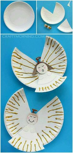 Easy paper plate angel crafts for kids! Perfect for Christmas – Fun Crafts for Kids Easy paper plate angel crafts for kids! Perfect for Christmas Easy paper plate angel crafts for kids! Perfect for Christmas Christmas Angel Crafts, Preschool Christmas Crafts, Winter Crafts For Kids, Diy Crafts For Kids, Holiday Crafts, Children Crafts, Daycare Crafts, Christmas Crafts Paper Plates, Christian Christmas Crafts