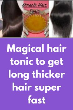 Magical hair tonic to get long thicker hair super fast Coconut Oil Hair Treatment, Coconut Oil Hair Growth, Coconut Oil Hair Mask, Oil For Curly Hair, Get Thicker Hair, Natural Coconut Oil, Mustard Oil, Hair Tonic, Hair Remedies For Growth