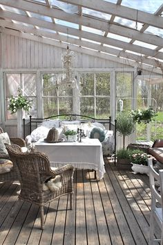 Cute Farmhouse Porch Design Decor Ideas - adolfo news Outdoor Rooms, Outdoor Gardens, Outdoor Living, Outdoor Decor, Outdoor Bedroom, Roof Gardens, Outdoor Patios, Outdoor Kitchens, Outdoor Plants