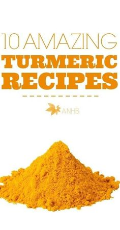 Ten amazing turmeric recipe to ensure you get your daily does of this spice! Use turmeric to help fight headaches, heartburn, bronchitis and more!
