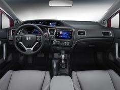 7x Blue LED Lights Interior Package for Honda CIVIC 20012005