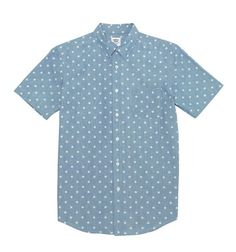 DOT CHAMBRAY S/S SHIRTS