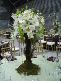 Unique floral centerpiece. Like it? Email info@kumba.com