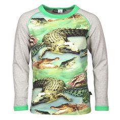 Molo shirt krokodil