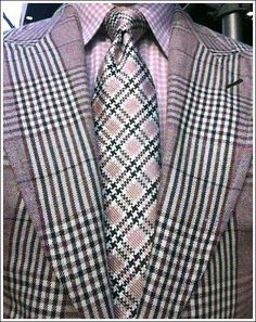 Glen Duke Windsor Plaid | tom ford brown plaid suit in linen silk and cashmere dusty rose check ...