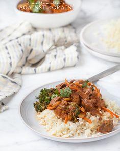 Crockpot Paleo Thai Stew - Danielle Walker's Against All Grain