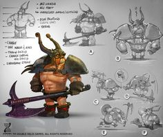 Character Design Viking 2 by ~SimonLoche on deviantART