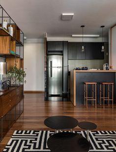 17 Most Kitchen Layout Design Ideas Condo Interior, Kitchen Interior, Interior Design Living Room, Kitchen Room Design, Modern Kitchen Design, Kitchen Layout, Kitchen Ideas, Wc Decoration, Sweet Home