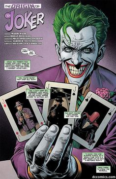 Origin of the joker.