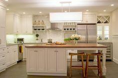 Island Dreams Kitchen - traditional - kitchen - boston - Kristen Schraven