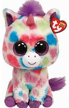 7978d7cd6a6 Beanie Boo Buddies Ty Beanie Boos Buddy - Wishful the Unicorn Soft Beanie  Boo Soft Toys