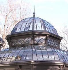 "steampunktendencies: ""A Gardener's Dream victorian conservatory Via Victorian Houses / Tanglewood Conservatories """
