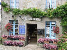 Bretagne, Finistère, Le Faou, Locronan, Boulangerie