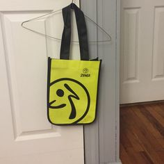 Small Zumba bag Perfect to Cary your gym towel and other small accessories neon green/yellow Zumba Bags Mini Bags