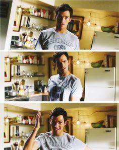 I adore him. I adore him AND his awkwardness :)