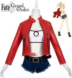 Fate//Apocrypha Mordred Japanese Anime Kimono Loose Haori Bathrobe Coat Jacket