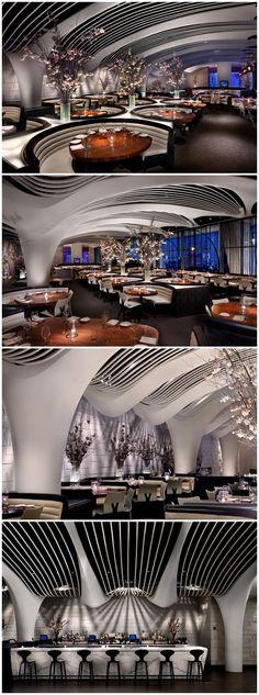STK Midtown in NYC | Restaurant Interior Design | Designed by iCrave....