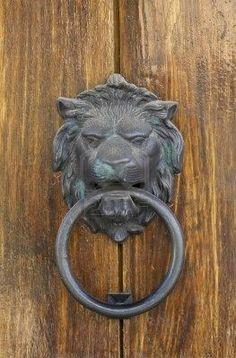 The knocker. I wish he growled. happyroost.com