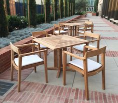 Horizon Danish All Weather Dining Teak Chair Westminster Teak Outdoor Furniture Teak Dining Chairs