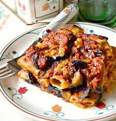 Paccheri alla Montalbano al forno – Rezepte Best Italian Recipes, Sicilian Recipes, Sicilian Food, Italian Dishes, Tortellini, Pasta Dishes, Soul Food, Pasta Recipes, Food And Drink