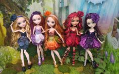 Lot of Five Dresses/Clothing for Ever After High Dolls | eBay