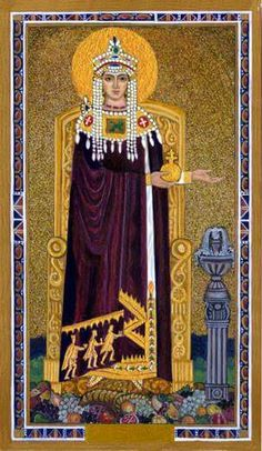The Byzantine  Tarot by John Matthews & Cilla Conway**